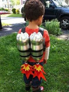 DIY Jet Pack DIY kids costume for dress up party Space Costumes, Robot Costumes, Diy Costumes, Halloween Meninas, Halloween Kostüm, Halloween Costumes, Diy For Kids, Cool Kids, Crafts For Kids