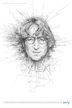 As an experiment with scribble art, illustrator Vince Low created these 9 celebrity portraits… Caricature, Vince Low, Art Sketches, Art Drawings, Art Du Monde, Art Du Croquis, Scribble Art, Inspiration Art, Celebrity Portraits