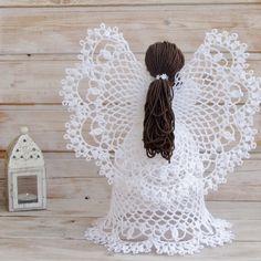 Aprende a tejer los ángeles más hermosos a crochet / DIY | Crochet y Dos agujas - Patrones de tejido
