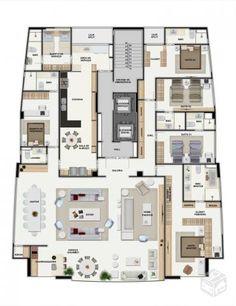 Apartamento Jaqueira 5 quartos, 312m², Alto Padrão