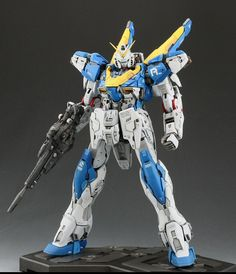 GUNDAM GUY: MG 1/100 V2 Gundam Ver. Ka - Awesome Customized Build [Updated 3/15/16]