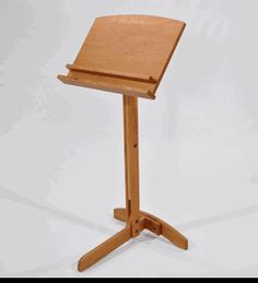 Penobscot Handcrafted Wood Music Stand