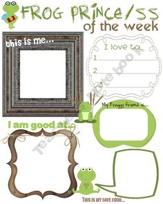 Frog Prince/ss of the week