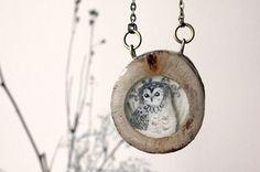I am a Bird: Wooden Jewelry