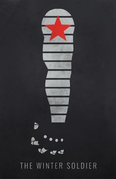 Captain America: Winter Soldier Minimalist Poster