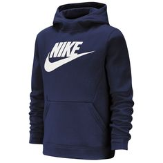 NWT MEN/'S NIKE SPORTSWEAR NSW LOOSE FIT PULL OVER HOODIE SEWN PATCHES SZ LARGE