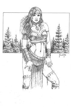 Tribal Maiden By MitchFoust On DeviantArt