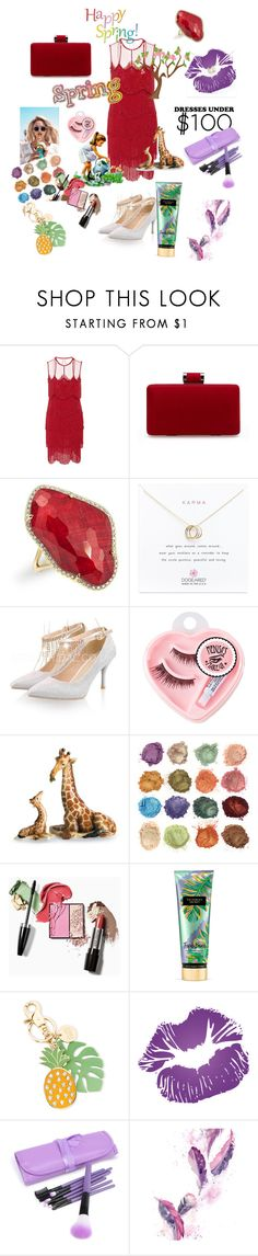 """""""Untitled #102"""" by tinathequeen ❤ liked on Polyvore featuring Naeem Khan, Anne Sisteron, Dogeared, Wildfox, Medusa's Makeup, Franz Collection, Victoria's Secret and See by Chloé"""