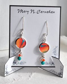 Jewelry Cards Earring Cards  Necklace Tags by TheHourglassStudio, $12.00