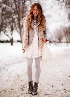 lace, leather & fur