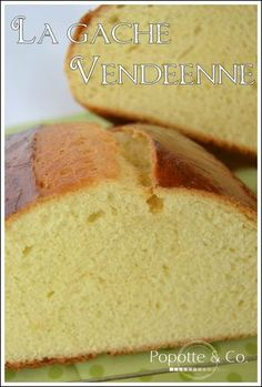 Gâche vendéenne Cooking Bread, Lemon Desserts, Sweet Recipes, Biscuits, Banana Bread, Bakery, Food And Drink, Homemade, Dishes