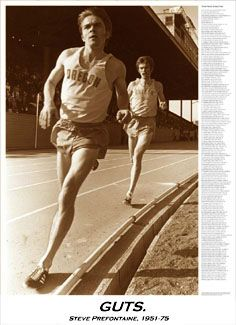 Steve Prefontaine GUTS Commemorative Poster - ~Available at www.sportsposterwarehouse.com