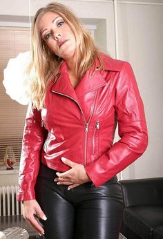 100+ ideeën over Leren jas Leather coat in 2020 | leren