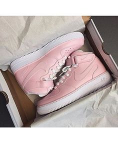 Outlet Women Nike Air Force 1 Flyknit Low PinkPink Pink