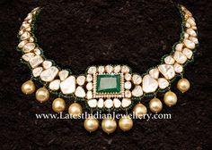Flat Diamond Youthful Necklace