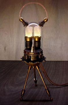"""Otto""  Steampunk Device  by Art Donovan"
