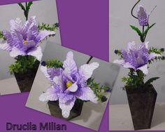 Arteirices da Dru: Arranjos de Flores em EVA