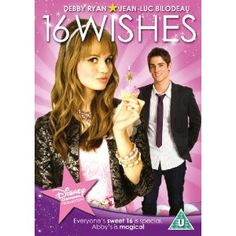16 Wishes [DVD]: Amazon.co.uk: Debby Ryan, Jean-Luc Bilodeau, Anna Mae Routledge, Peter DeLuise: Film & TV