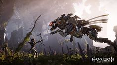 PS4 Exclusive Horizon: Zero Dawn Gets New Info on Animals, Machines and Two Beautiful Screenshots | DualShockers