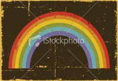 Grunge Rainbow Royalty Free iStock Vector Art Illustration