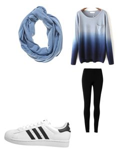 """""""lazy outfit"""" by annamariaofficial on Polyvore featuring Max Studio, adidas Originals and Necklush"""
