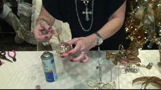 Donna Moss Decorates Dallas How-To Christmas decoration tips Part 1 - Donna Moss Christmas decoration tips – December 2012 [Part - Homemade Christmas Decorations, Christmas Ornament Crafts, Christmas Centerpieces, Holiday Decor, Diy Ornaments, Christmas Shopping, All Things Christmas, Christmas Fun, Dallas