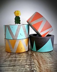 This listing is for a 8cm high x 15cm wide planter. Just mention the colour you would like at checkout. This product comes sealed and ready for a