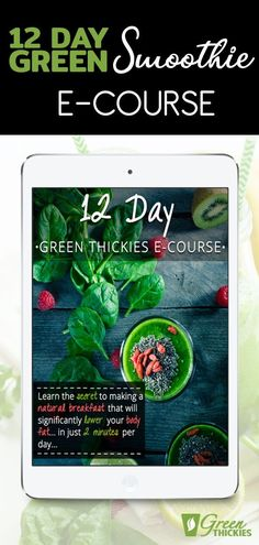 Learn the secret to making a natural breakfast that will significantly lower your body fat... in just 2 minutes per day... Green Smoothie Cleanse, Green Detox Smoothie, Green Smoothie Recipes, Smoothie Diet, Green Smoothies, Healthy Carbs, Get Healthy, Healthy Food, Detox Recipes