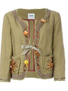 embellished jacket $607 #Farfetch womensfashion #ShoppingSale