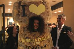 #ThrowBackThursday #FantinelMemories  #Fantinel #RibollaGialla Brut Launch Party (#Vinitaly 2013)   Great fun....