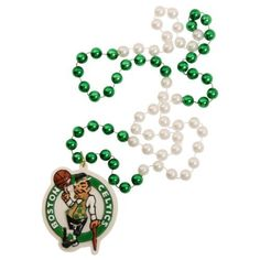 "NBA 2-Tone Mardi Gras Beads with Team Medallion - Boston Celtics by Siskiyou. $4.98. 18"" beads with 3"" heavy duty medallion. Fulfilled by Amazon. Getting decked out in your favorite teams gear these beads are a great addition to any look. Or you can have the beads everybody wants this mardi gras."