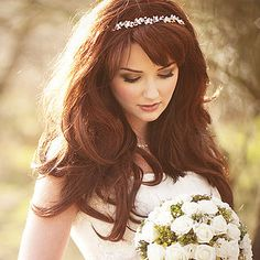wedding makeup for red hair blue eyes - Google Search