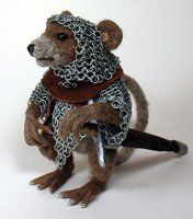 Rataghast of the Tower Guard by mysticalis. So cute!