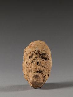 Auguste Rodin, Masque de Hanako, type B, 1907-1908