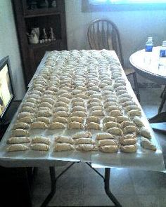 "I remember these growing up my Aunt Elsie made every Christmas ""Hungarian/Polish  cookies"" not sure which a family recipe I Must Try my hand at making these  Keep Tradition Alive"