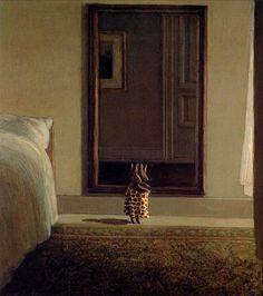"""Михаэль Сова. """"Кролик у зеркала""""."""