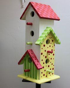 SCRAP YOUR WORLD: Birdhouses #diybirdhouse