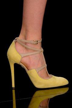 strappy #ElieSaab A/W '13 #shoes #PFW