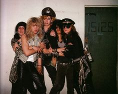 guns n roses...looking a little wasted!