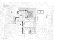 Carl-Viggo Hølmebakk, Summer House, 1995-1997, Risør, Norway Architect Drawing, Cabin Plans, Floor Plans, How To Plan, Architecture, Drawings, Summer, House, Inspiration