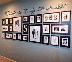 7 ideas para decorar paredes con fotos y marcos