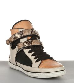 Maje hightop sneakers