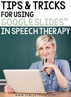 Google Slides™ is a sure-fire way to enhance your speech teletherapy sessions. There are not many things this app can't do, so check out this blog post to learn 12 quick tips and tricks to make using this activities in Google Slides™ versatile, simple, engaging, and practical for speech therapy purposes.