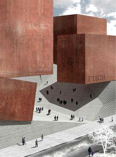 ncca National Centre for Contemporary Arts, Moscow | Alejandro Aravena