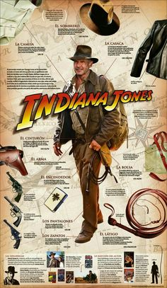 A treasure map is a variation of a map to mark the location of buried treasure, a lost mine, a valuable secret or a hidden location. Henry Jones Jr, Harrison Ford Indiana Jones, Indiana Jones Films, Indiana Jones Costume, Indiana Jones Adventure, Buried Treasure, Cultura Pop, Classic Movies, I Movie