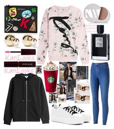 """Untitled #192"" by karilooks ❤ liked on Polyvore featuring Kenzo, Jennifer Lopez, Karl Lagerfeld, Kenneth Jay Lane, Kilian, Kevyn Aucoin, Kjaer Weis, KAROLINA and By Terry"