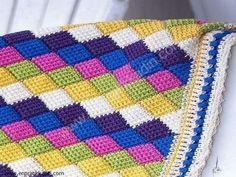 Yeni Çıkan Tunus İşi Bebek Battaniyesi Modelleri dekor önerisi