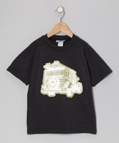 Take a look at this Black Java Jungle Safari Tee - Infant, Toddler & Boys by Kai Bean Kids on #zulily today!