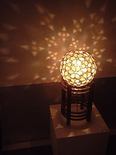 atelier SUETOMO ランプ15 末友 章子のステンドグラス