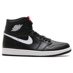 2ee0b003dca4 NIKE AIR JORDAN 1 RETRO HIGH OG - BLACK WHITE-BLACK Jordan Shoes For